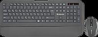 Беспроводной Комплект, Клавиатура + Мышь, Defender Berkeley C-925 Nano,B Черн RUS Кл:104+12 М:6кн, 8