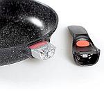 Сковорода с крышкой Nice Cooker Goose Series 24х5,6 см 1,7 л, фото 5