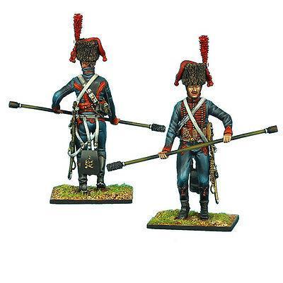 Коллекционный солдатик, Наполеоновские войны. Канонир полка конной артиллерии с банником