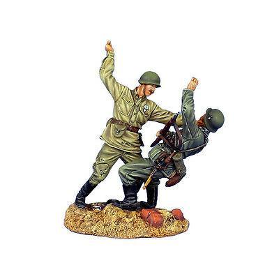 Коллекционный солдатик, Сталинградская битва Советский солдат нападает в рукопашную