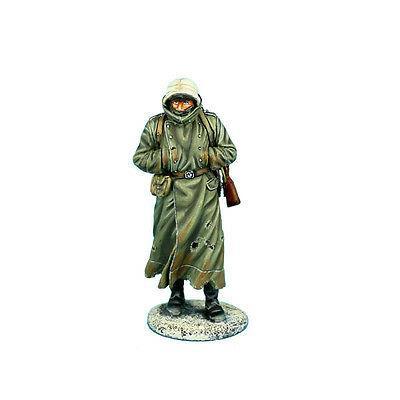 Коллекционный солдатик, Сталинградская битва Замерзающий немецкий солдат с ППШ41