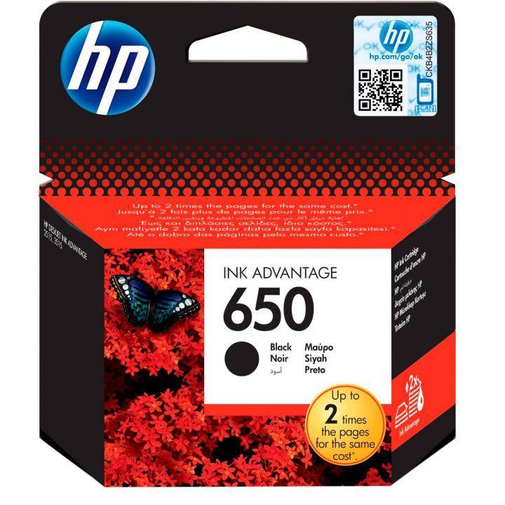 Картридж HP №650, black original