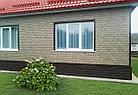 Фасадные панели Ю-Пласт Stone House Кирпич (графитовый), фото 4