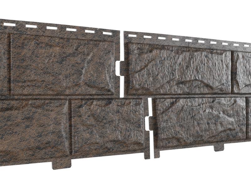 Фасадные панели Ю-Пласт Stone House Камень (жженый)