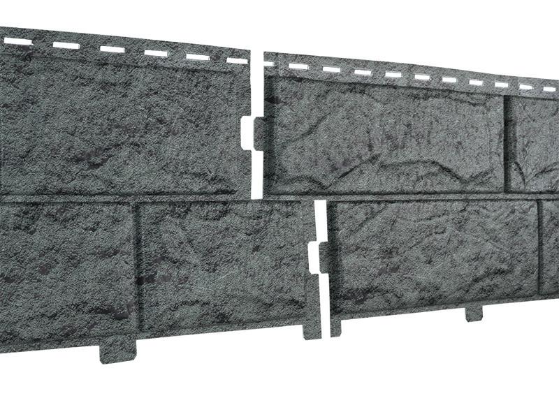 Фасадные панели Ю-Пласт Stone House Камень (изумрудный)