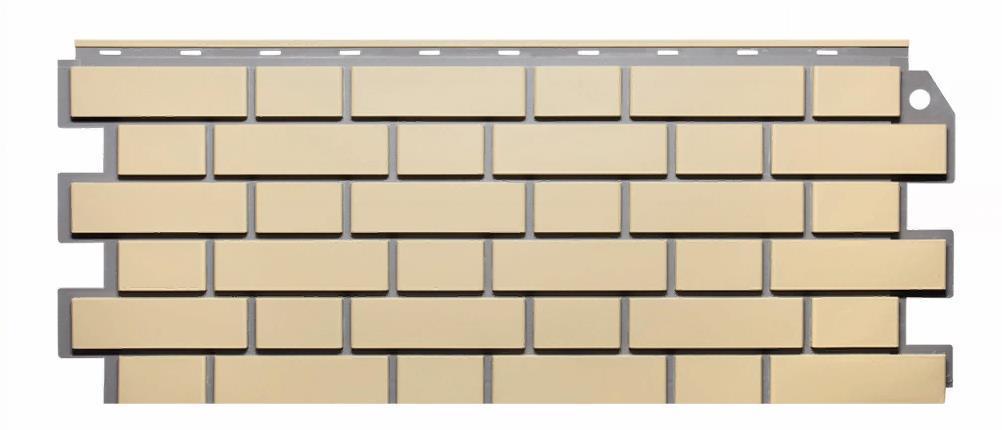 Фасадные панели Желтый 1130x463 мм Облицовочный Кирпич FINEBER