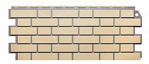 Фасадные панели Желтый 1130x463 мм ( 0,47 м2) Кирпич облицовочный  FINEBER