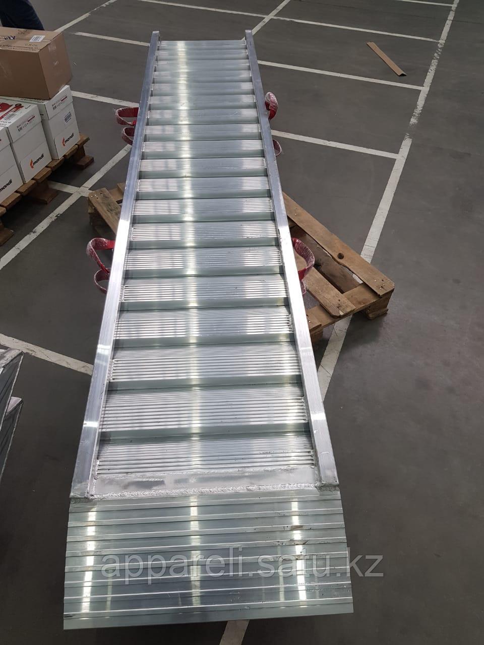 Сходни для заезда алюминиевые 9,5 тонн