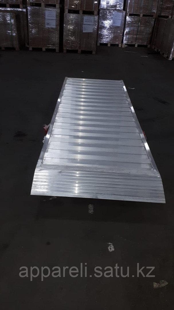 Сходни для заезда алюминиевые до 3х тонн