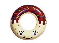 Круг надувной для плавания взрослый Пончик, фото 1