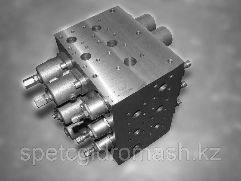 Гидроаппарат регулирующий 5124-06-09-000-5 6-ти золотниковый, распределитель гидроцилиндров