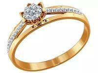 Золотое кольцо SOKOLOV 1011280_175