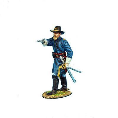 Коллекционный солдатик, Гражданская война США, Спешившийся Капитан кавалерийского корпуса