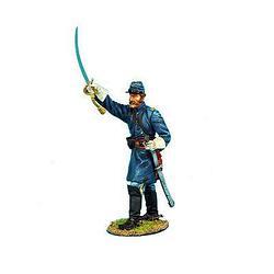 Коллекционный солдатик, Гражданская война США, Спешившийся Лейтенант кавалерийского корпуса