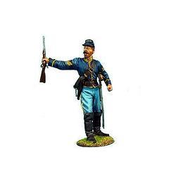 Коллекционный солдатик, Гражданская война США, Спешившийся Сержант кавалерийского корпуса