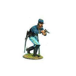 Коллекционный солдатик, Гражданская война США, Спешившийся Кавалерист