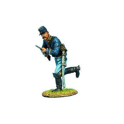 Коллекционный солдатик, Гражданская война США, Спешившийся бегущий Кавалерист