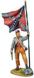 Коллекционный солдатик, Гражданская война США, Знаменосец 13-го Алабамского полка