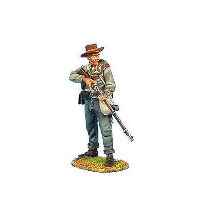 Коллекционный солдатик, Гражданская война США, Пехотинец 13-го Алабамского полка, на изготовке