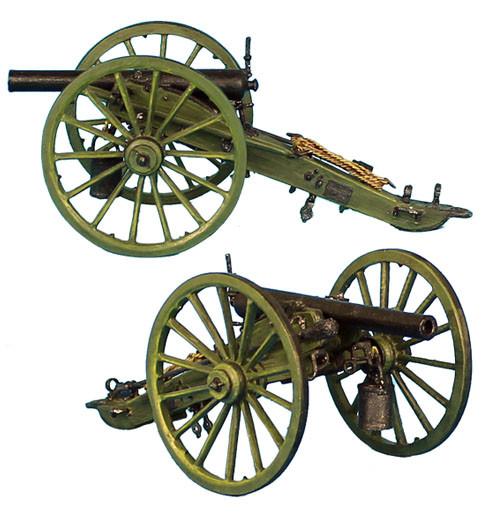 Коллекционный солдатик, Гражданская война США, 3-Дюймовая Артиллерийское орудие (без солдат)