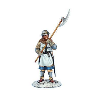 Коллекционный солдатик, Рыцари Крестоносцы, Сержант с алебардой Тевтонского ордена