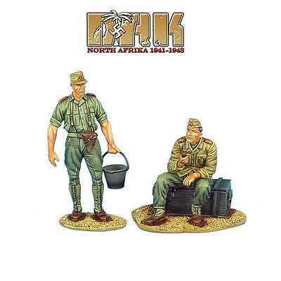 Коллекционный солдатик, Вторая Мировая Война, Экипаж артиллерийского расчета НАК. на отдыхе №2