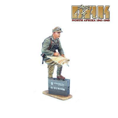 Коллекционный солдатик, Вторая Мировая Война, Офицер НАК. с картами