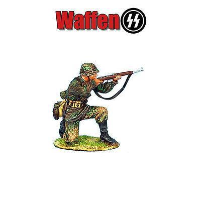 Коллекционный солдатик, Нормандия Немецкий Панцергренадер Waffen-SS, на изготовке с колена