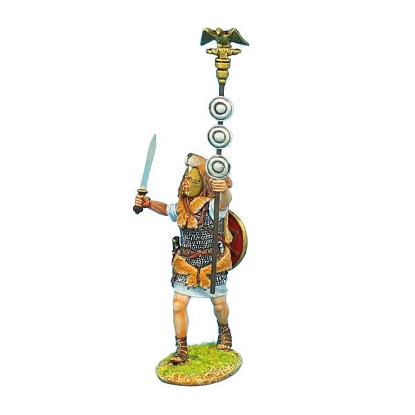 Коллекционный солдатик. Слава Рима. Аквилифер Имперской армии