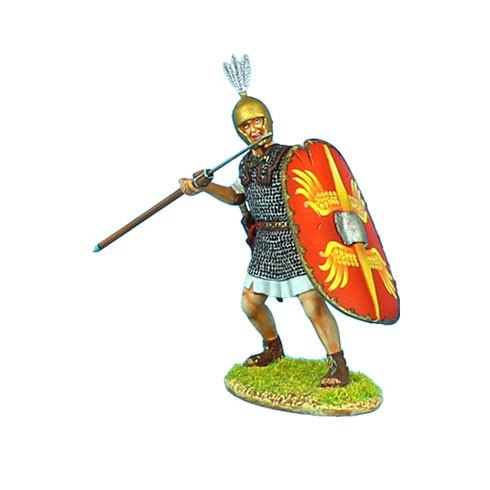 Коллекционный солдатик. Слава Рима. Преторианский Гвардеец Римской Империи, с пилумом № 2