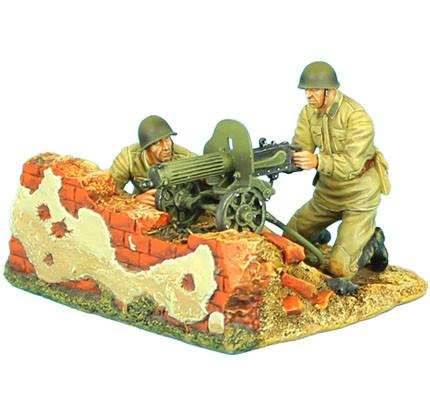 Коллекционный солдатик, Сталинградская битва Советский расчёт станкового пулемёта системы Максима