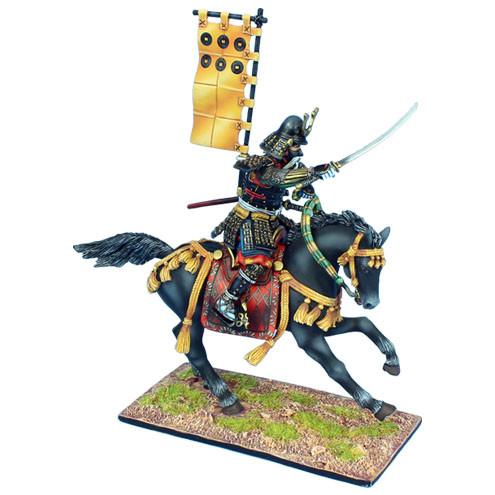 Коллекционный солдатик, Эпоха самураев. Конный самурай Герерал Санада Нобуцуна