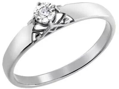Золотое кольцо SOKOLOV 1011160_165