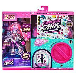 "Capsule Chix 59229 Набор из 2 кукол ""МегаБлеск"""