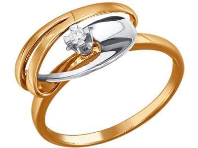 Золотое кольцо SOKOLOV 1010819_165