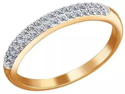 Золотое кольцо SOKOLOV 1010359_18