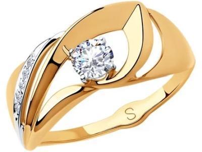 Золотое кольцо SOKOLOV 018172_18