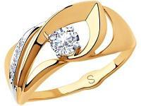 Золотое кольцо SOKOLOV 018172_17
