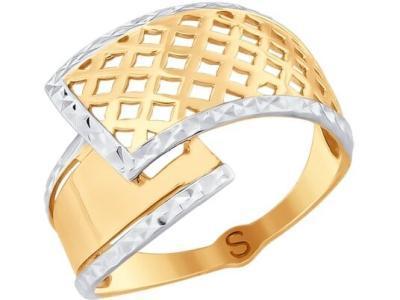 Золотое кольцо SOKOLOV 017750_17