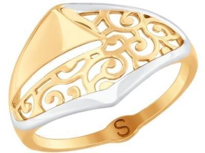 Золотое кольцо SOKOLOV 017681_17