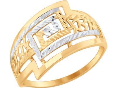 Золотое кольцо SOKOLOV 017662_175
