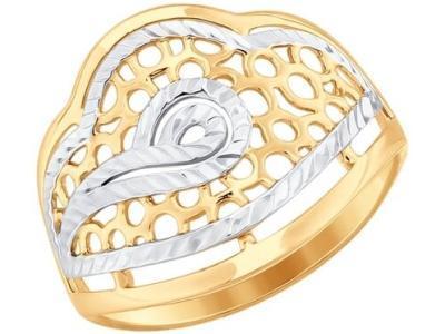 Золотое кольцо SOKOLOV 017660_17