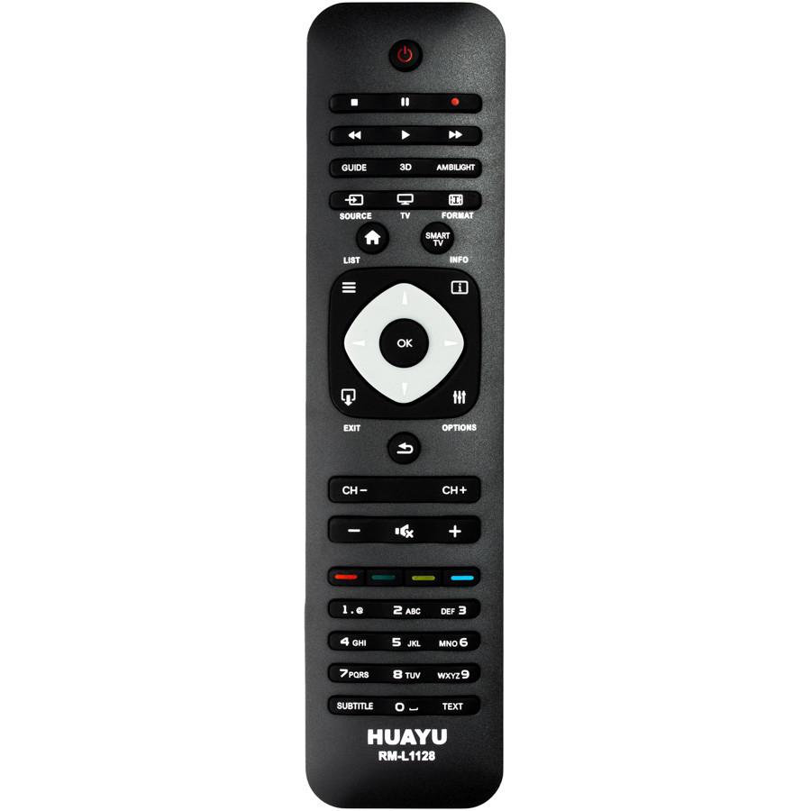 Универсальный пульт ДУ телевизоров Philips HUAYU RM-L1128 (черный)