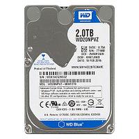 "WD Жесткий диск для ноутбука 2Tb WD Blue 5200rpm 8Mb 2.5"""
