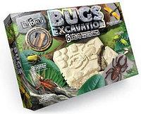 Набор для раскопок Bugs Excavation - НасекомыеДинозавры 6 видов Danko Toys