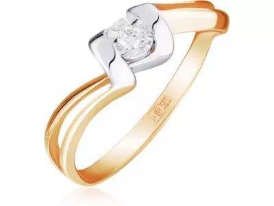 Золотое кольцо Lucente 3218769_9_18