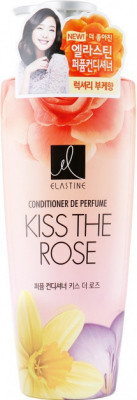 LG Elastine Парфюмированный кондиционер для всех типов волос Perfume Kiss the Rose / 600 мл.