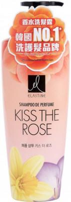 LG Elastine Perfume Kiss the Rose Шампунь Парфюмированный для всех типов волос 600мл.
