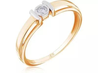 Золотое кольцо Lucente 3214769_9_18