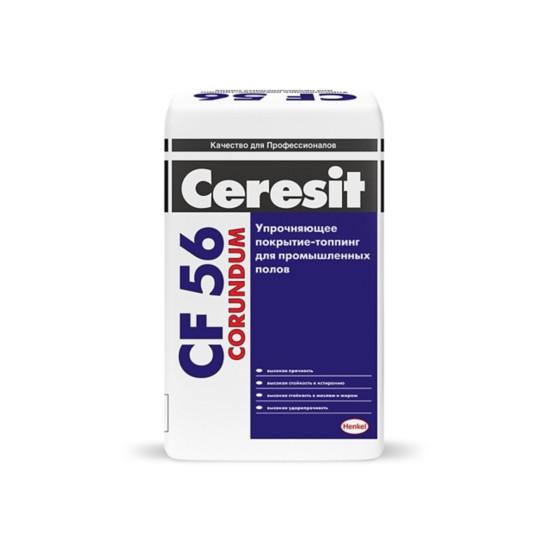 Покрытие топпинг для бетона Ceresit CF 56 Corundum